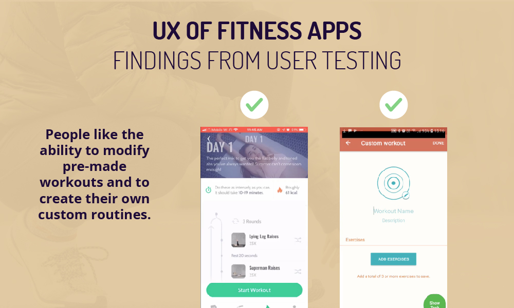 fitness app ui findings 1