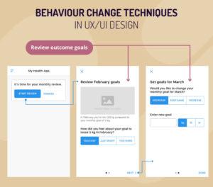 Behaviour change techniques in ux/ui design
